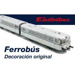 Ferrobús 591.300, RENFE. Versión de origen.
