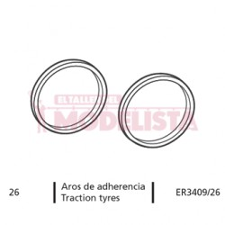 Traction tyres. Alaris.