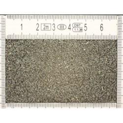 Basalt gravel.