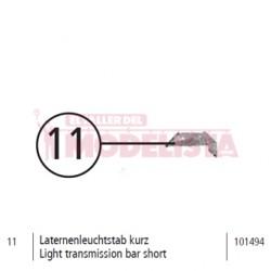 Light transmission bar short, RENFE 307.