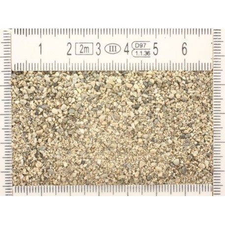 Gravel grain size 1 (H0)