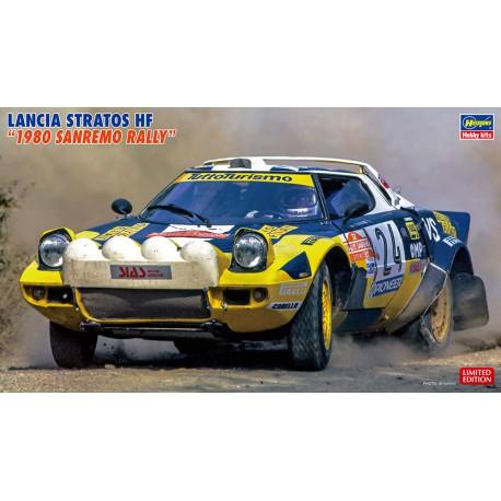 """Lancia Stratos HF """"Rally de San Remo""""."""