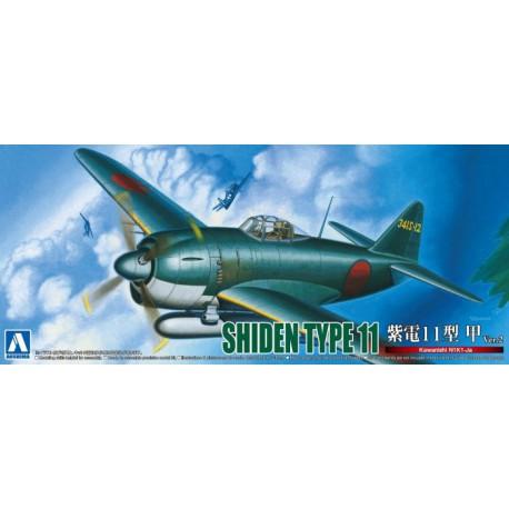 Kawanishi N1K1-Ja Shiden Type 11.