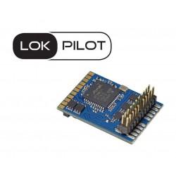 LokPilot V5.0 decoder, 8-pin plug. Multiprotocol.
