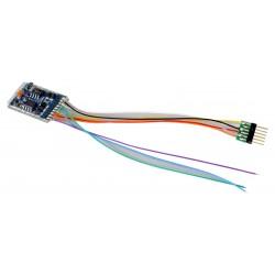 LokPilot V5.0 decoder, 6-pin plug. DCC
