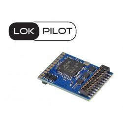 LokPilot V5.0 decoder, 21-pin plug. MKL. Multiprotocol.