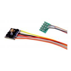 Decoder LokPilot micro V5.0 DCC de 8 pins.