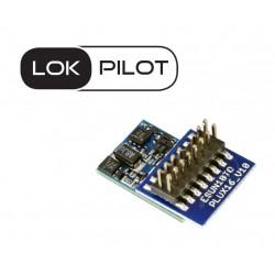 LokPilot Micro V5.0 DCC decoder, PluX16.