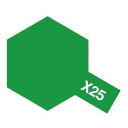 Verde traslúcido brillante, 10 ml.