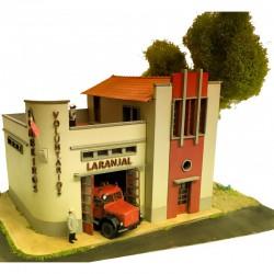Cuartel de bomberos.