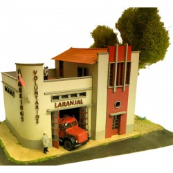 Fire station.