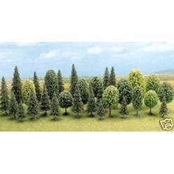 35 árboles.