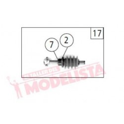 Gear worm, RENFE 333. ROCO 121286