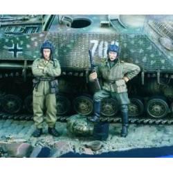 Russian tankmen WWII. VERLINDEN 1895
