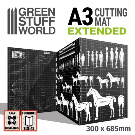 Scale Cutting Mat A3 Extended.