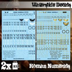 Calcas. Números romanos.