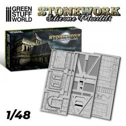 Silicone Molds - Stonework.