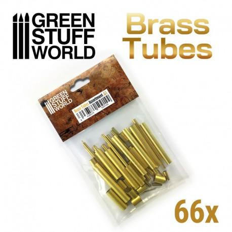 Brass Tubes Assortment.