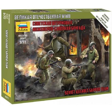 Soviet assault sapper team.
