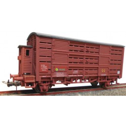 Cattle wagon, RENFE.