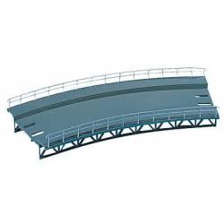 Rampa curva, 437 mm.