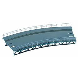 Rampa curva, 437 mm. FALLER 120476