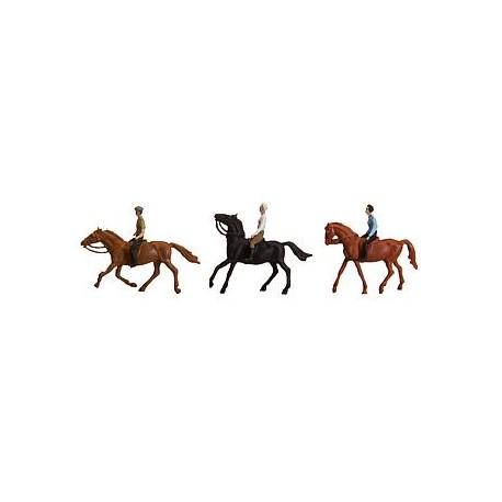 De paseo a caballo. FALLER 153027