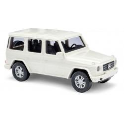 Mercedes-Benz G, blanca.