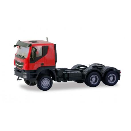 Iveco Trakker 6x6 Zgm rojo.