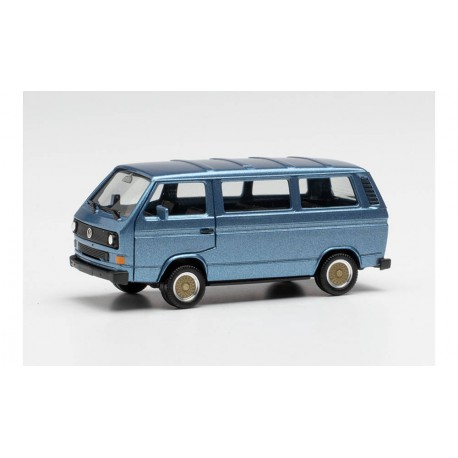 VW T3 Bus metallic blue.