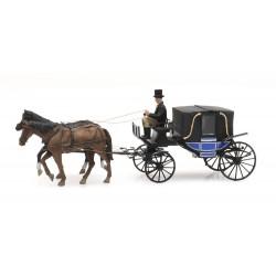 Landau carriage.
