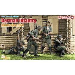 German infantry Barbarossa 1941. DRAGON 6580