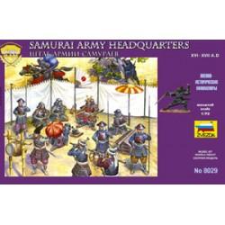 Ejército de samurais.