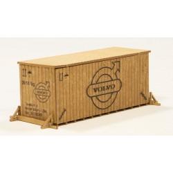 Cajas de madera, Volvo.