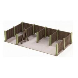 Sistema de anclaje para el transporte de cajas.