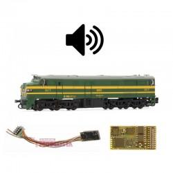 Sound decoder for RENFE 316, 21 pins. D&H