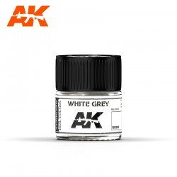 White grey (RAL 9002), 10ml. Real Colors.