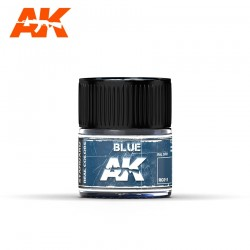 Blue (RAL 5001), 10ml. Real Colors.