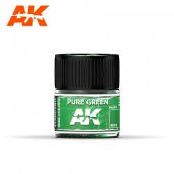 Pure green (RAL 6037), 10ml. Real Colors.