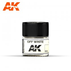 Off white, 10ml. Real Colors.