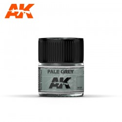 Pale Grey, 10ml. Real Colors.