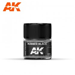 Rubber Black, 10ml. Real Colors.