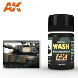 Wash for NATO tanks.