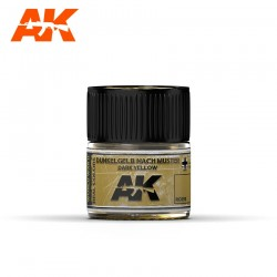 Dunkelgelb Nach Muster Dark Yellow, 10ml. Real Colors.