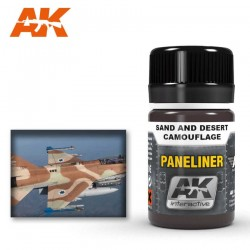 Paneliner for sand and desert camouflage.