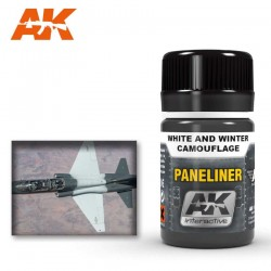 Paneliner for white and winter camouflage.