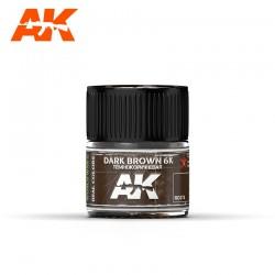 Dark Brown 6K, 10ml. Real Colors.