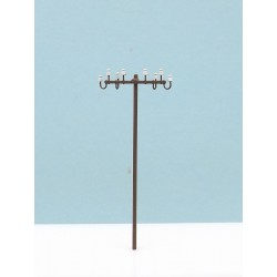 Electric wood pole. RB 2804