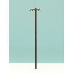 Electric wood pole. RB 2807