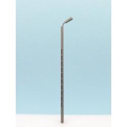 Wood light pole.